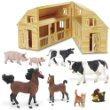 Safari Ltd 397329: Down On The Farm Set