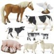 Safari Ltd 397929: Farm Life Set of 9