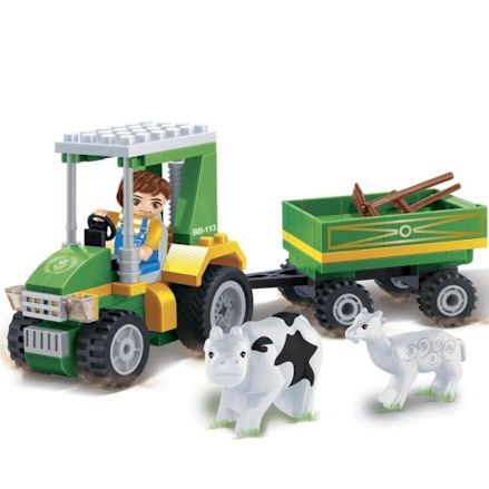 BanBao 8586: Tractor with Tools