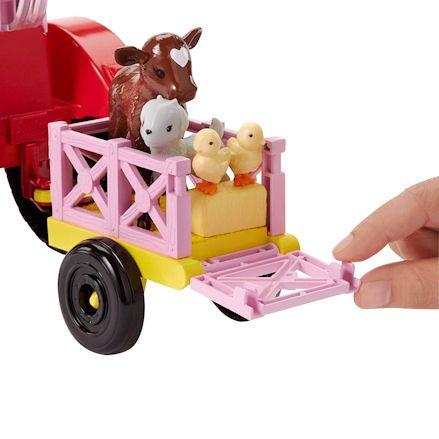 Barbie Tractor, trailer