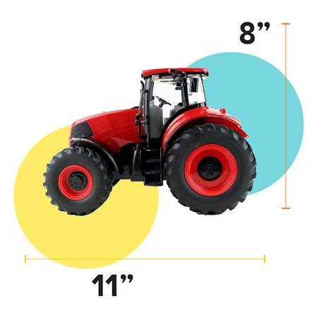 Boley Tractor, Measurements
