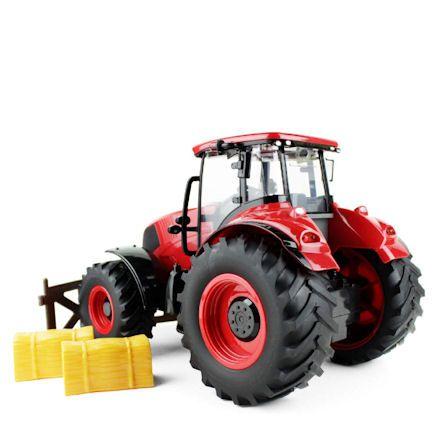 Boley Tractor, Rear View