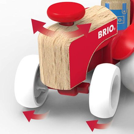 Brio Farm Tractor, wheels