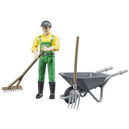 Bruder Farmer, raking