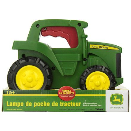 Ertl Tractor Flashlight, Box
