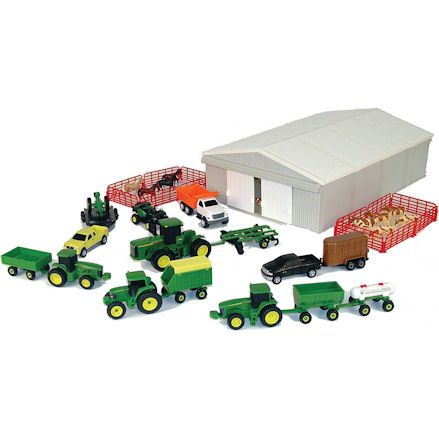 Ertl John Deere 70 Piece Value Playset