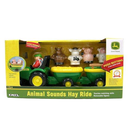 Ertl Animal Sounds Hay Ride, box