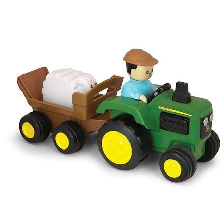 Ertl John Deere Pull and Go Tractor