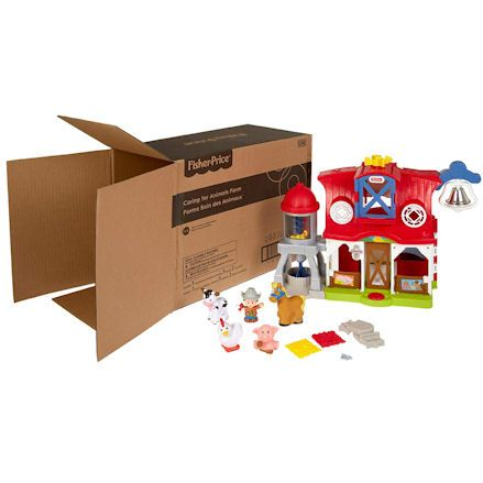 Fisher-Price Animal Farm, boxed