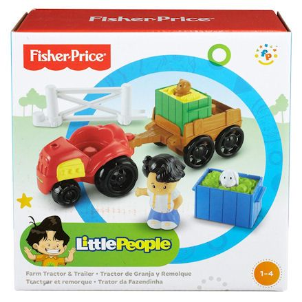 Fisher-Price Y8202 Little People Farm Tractor, Boxed