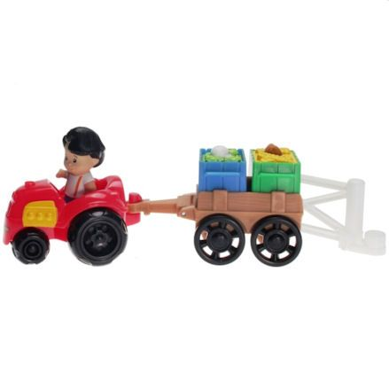 Fisher-Price Y8202 Little People Farm Tractor, Side View