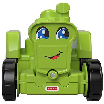 Fisher-Price GGT39 Little People Helpful Harvester Tractor, Face