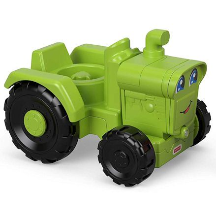 Fisher-Price GGT39 Little People Helpful Harvester Tractor, Rightview