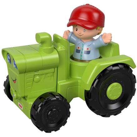 Fisher-Price GGT39 Little People Helpful Harvester Tractor