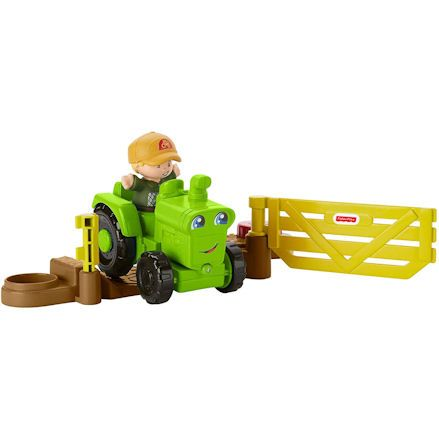 Fisher-Price DWC32 Little People Helpful Harvester Tractor, Passing