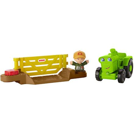 Fisher-Price DWC32 Little People Helpful Harvester Tractor, Setup