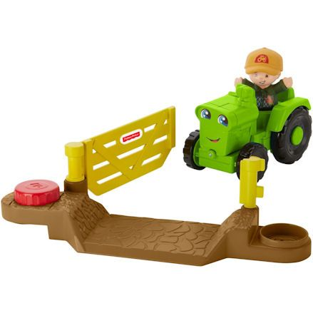 Fisher-Price DWC32 Little People Helpful Harvester Tractor