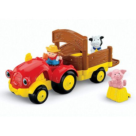 Fisher-Price X0018 Little People Tow 'n Pull Tractor