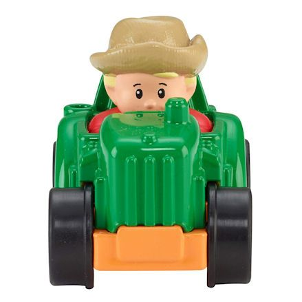 Fisher-Price CDH48 Little People Wheelies Tractor, Front View