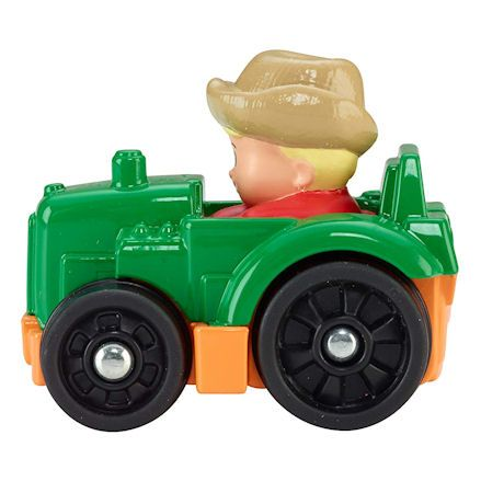 Fisher-Price CDH48 Little People Wheelies Tractor, Left Side