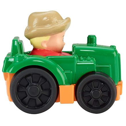 Fisher-Price CDH48 Little People Wheelies Tractor, Right Side