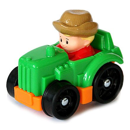Fisher-Price CDH48 Little People Wheelies Tractor