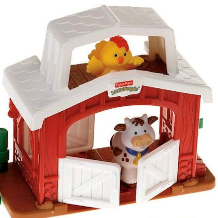 Fisher-Price Mini Farm, barn
