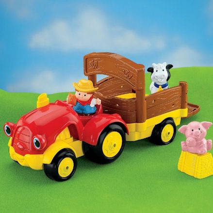 Fisher-Price tractors