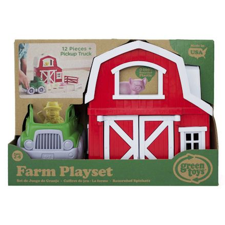 Green Toys Farm Playset, Package