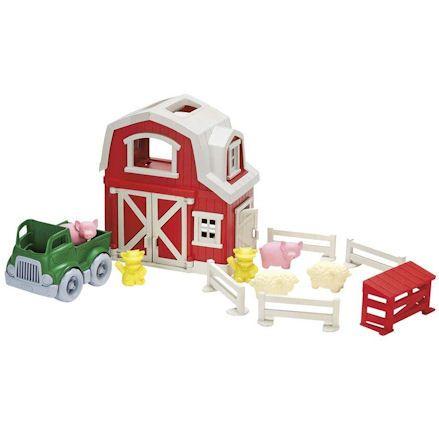 Green Toys Farm Playset, Wideshot