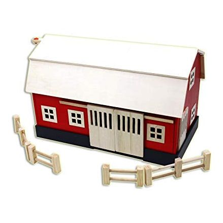 Homewear Wooden Big Red Barn
