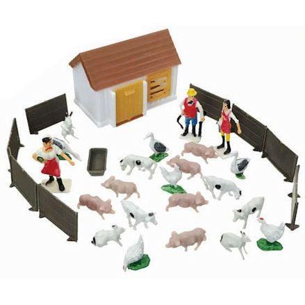 Mini Farm Playset, Angle shot