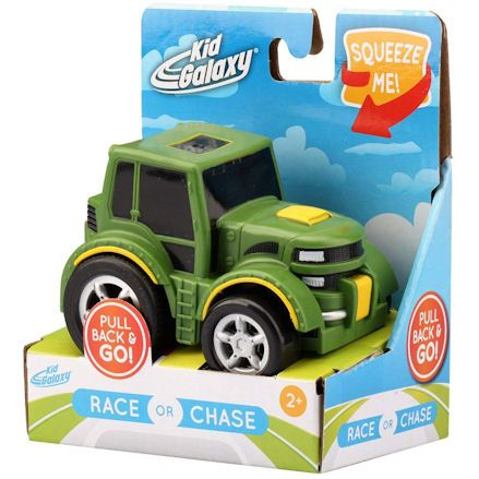 Kid Galaxy Tractor, Box