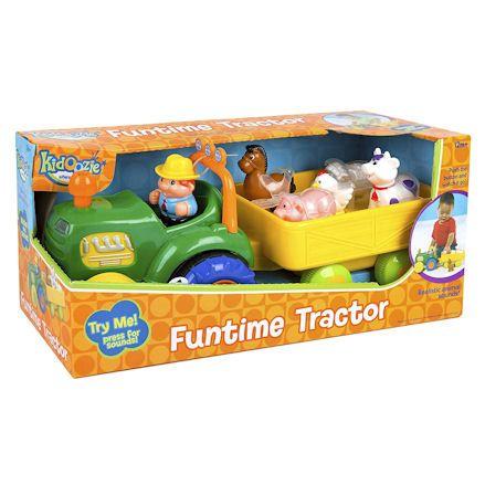 Kidoozie Tractor, Box