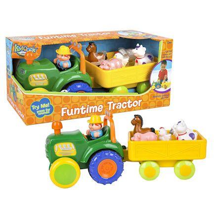 Kidoozie Tractor, Display