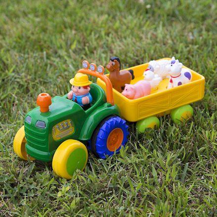 Kidoozie Tractor, Lawn