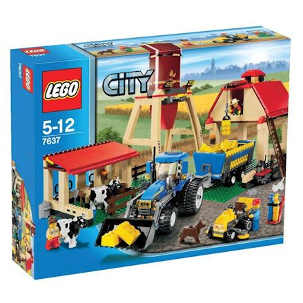 LEGO City Farm, Boxef