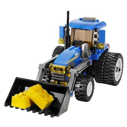 LEGO City Farm, Tractor