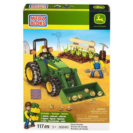 Mega Bloks Farm Tractor, Boxed