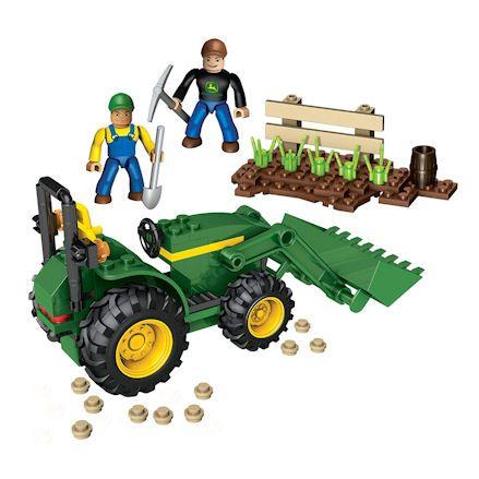 Mega Bloks Farm Tractor, Contents