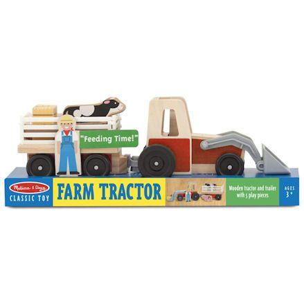Melissa & Doug Tractor, Boxed