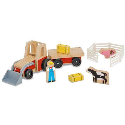 Melissa & Doug Tractor, Contents