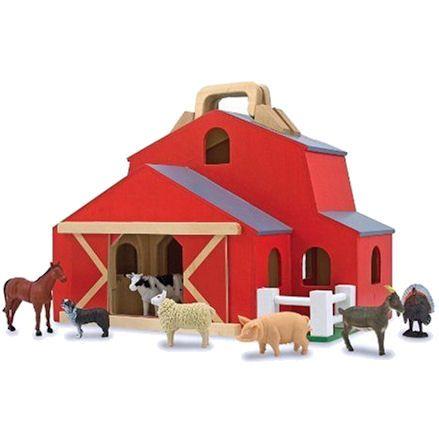 Melissa & Doug: Fold & Go Barn