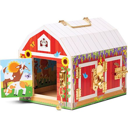 Latches Barn Toy, Open