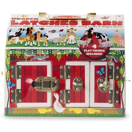Latches Barn Toy, Package