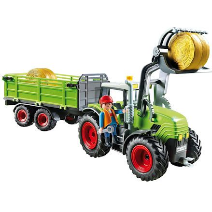 Playmobil 5121: Tractor with Loader & Trailer