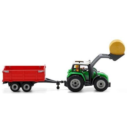 Playmobil Tractor, profile shot