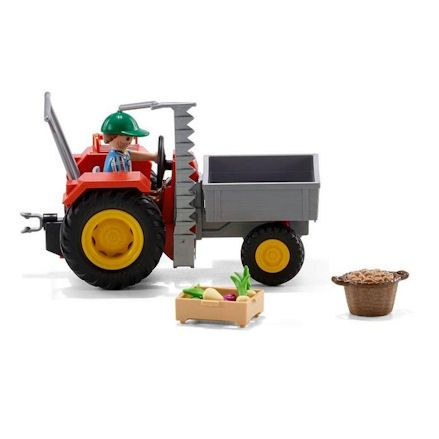 Playmobil Tractor, profile