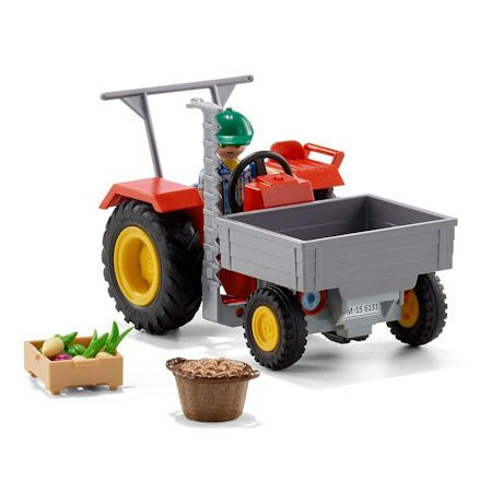 Playmobil 6131: Country Harvesting Tractor