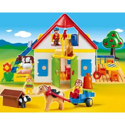 Playmobil 6750, Diorama